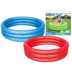 Bestway 51024, bazén s nafukovacím dnom, 102 cm, 3 farby