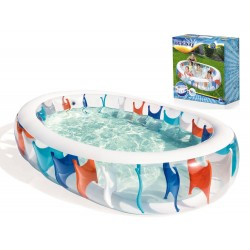 Bestway 54066 nafukovací bazén Elipsa, 229x152 cm