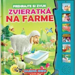 Zvuková kniha - Zvieratká na farme