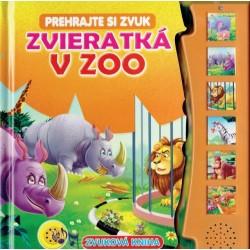 Zvuková kniha - Zvieratká v ZOO