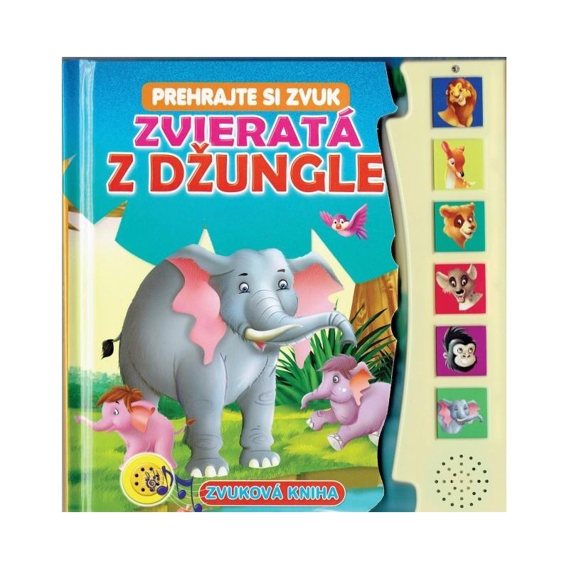 Zvuková kniha - Zvieratá z džungle