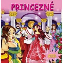Puzzle kniha- Princezné