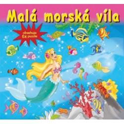 Puzzle kniha - Malá morská víla