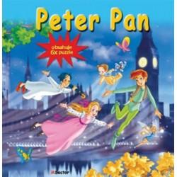 Puzzle kniha - Peter Pan