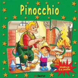 Puzzle kniha - Pinocchio