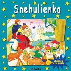 Puzzle kniha - Snehulienka