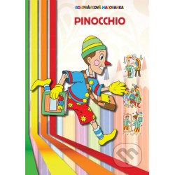 Omaľovánka- Pinocchio