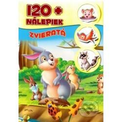 120+ nálepiek - Zvieratá