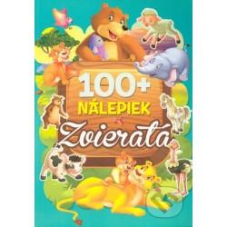 100+ nálepiek - Zvieratá