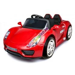 ELCARS elektrické autíčko Porsche SPYDER 918, EVA kolesá, multifunkčné diaľkové, ŠPZ s menom