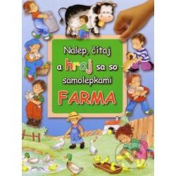 Nalep, čítaj a hraj sa so samolepkami - Farma