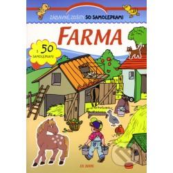 Zábavné zošity so samolepkami - Farma
