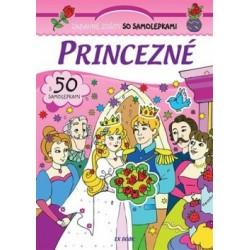Zábavné zošity so samolepkami - Princezné