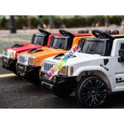 Joko elektrické autíčko Hummer, EVA kolesá, multifunkčné diaľkove