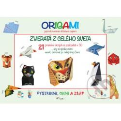 Model origami - Zvieratá z celého sveta