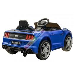 ELCARS elektrické autíčko Mustang GT, multifunkčné diaľkové, plynulý štart, EVA kolesá, kožená sedačka