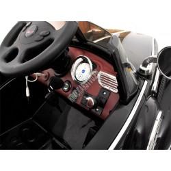 Bentley, mäkké kolesá, lakované,  licencia, 2x motor, čierna