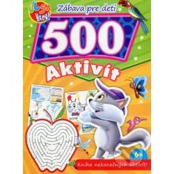 500 aktivít - mačka
