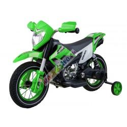 ELCARS veľká elektrická motorka CRF v štýle HONDA, gumené kolesá