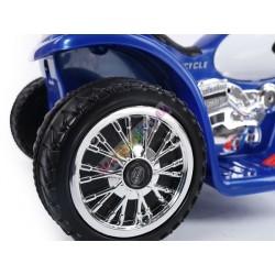 Harley detská elektrická motorka 86 cm, Červena