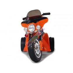 Harley detská elektrická motorka 86 cm, Oranžova