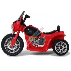 Harley detská elektrická motorka 86 cm, Ružova