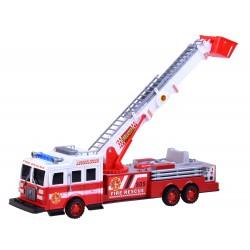 Hasičské auto s výsuvným rebríkom, zvukom a svetlom, 42 cm