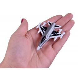 Set kovových stíhačiek 8v1, 1:400
