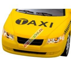 Taxík, otváracie dvere + zvuk