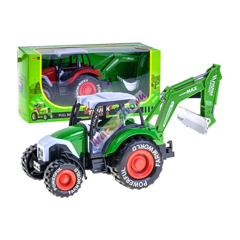 Traktor s kovovou karosériou 24 cm, 6 modelov