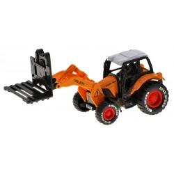 Traktor, 4 modely -  naberač, pluh, ruka, vysokozdvižný