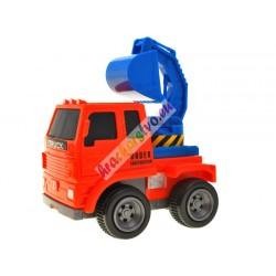 Stavebné autíčka 6 ks vbalení + dopravné značky