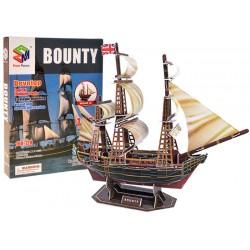 3D Puzzle loď Bounty, 125 dielov
