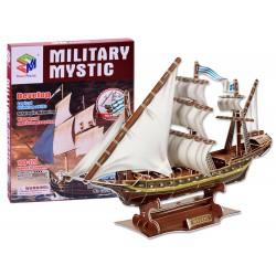 3D Puzzle loď Mystic, 129 dielov