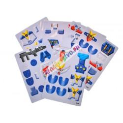 3D puzzle - bojovník, 2 modely