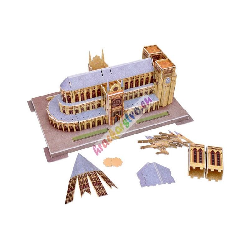 3D Puzzle, Katedrála Notre Dame Paríž, 40 cm