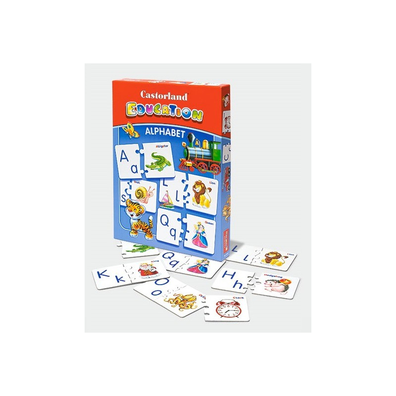 Castorland Edukatívne Puzzle Alphabet