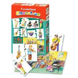 Castorland Edukatívne Puzzle Hudobné nástroje