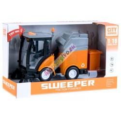 SWEEPER – interaktívne zametacie auto s efektmi