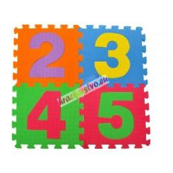 Veľké penové puzzle - Číslice