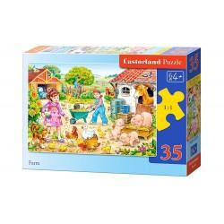 Castorland Puzzle  Farma, 35 dielikov
