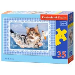 Castorland Puzzle Lenivé mačiatko, 35 dielikov