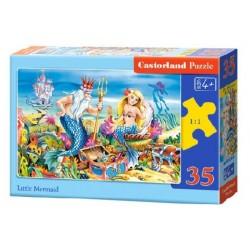 Castorland Puzzle Malá morská panna, 35 dielikov