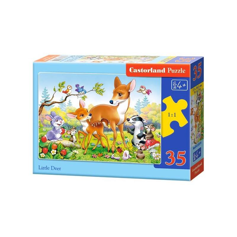 Castorland Puzzle Malý jeleň, 35 dielikov