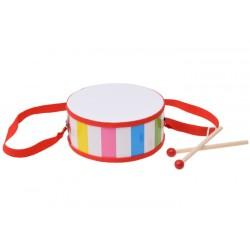 Farebný bubon s popruhom, 5 farieb