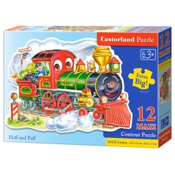Castorland MAXI 12 Puzzle Huff a Puff