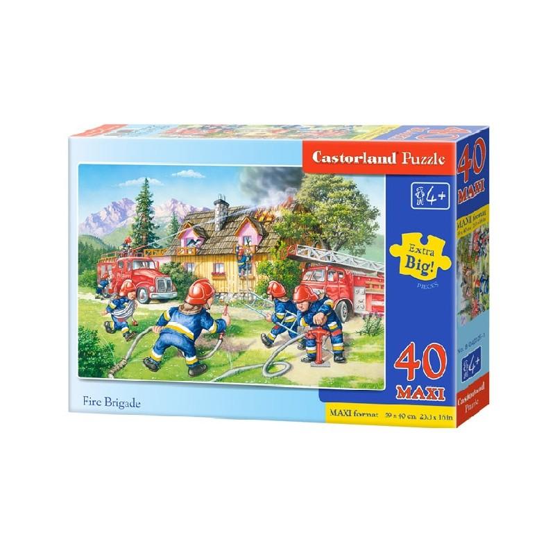 Castorland MAXI 40 Puzzle Hasičský zbor