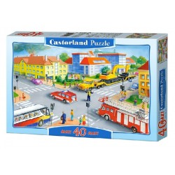 Castorland MAXI 40 Puzzle Križovatka