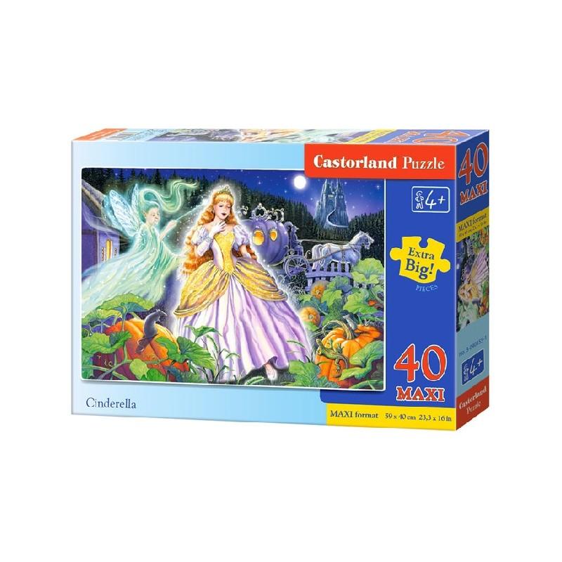 Castorland MAXI 40 Puzzle Popoluška