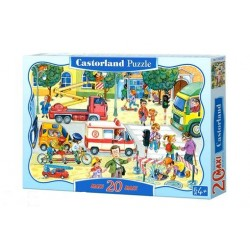 Castorland MAXI 20 Puzzle Každodenná realita